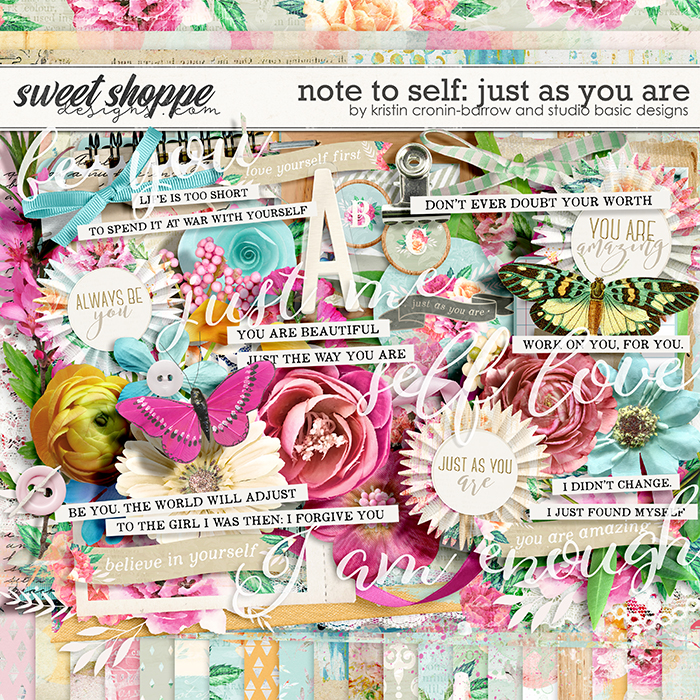 Note To Self: Just as You Are Kit by Kristin Cronin-Barrow & Studio Basic