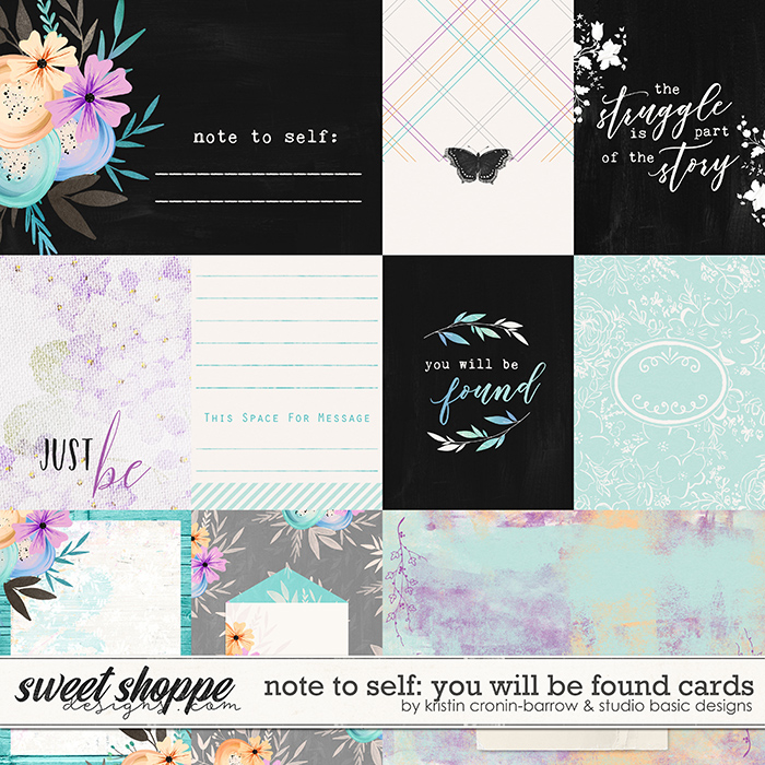 Note To Self: You Will Be Found Cards by Kristin Cronin-Barrow & Studio Basic
