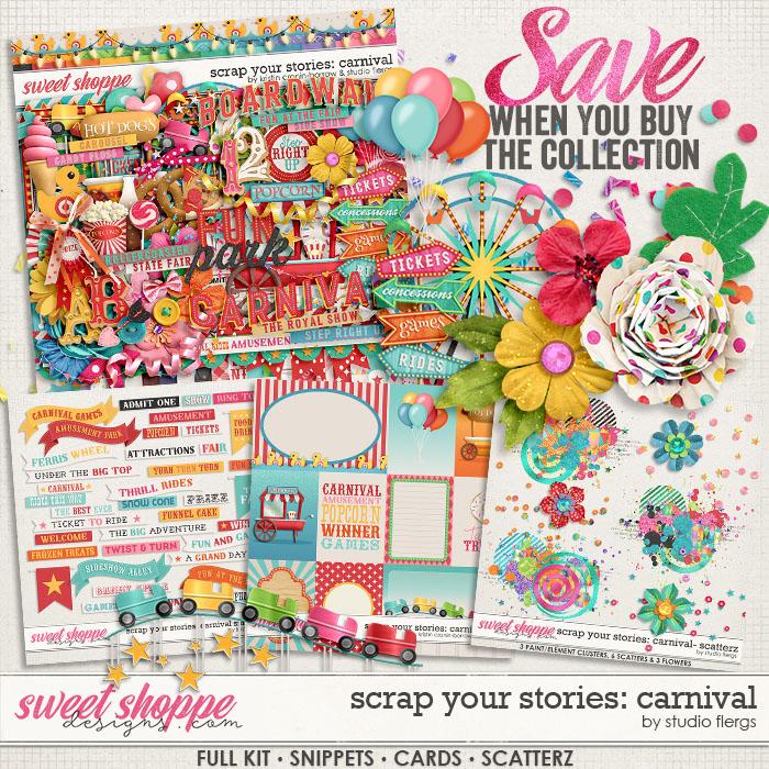 Scrap Your Stories: Carnival- BUNDLE by Studio Flergs & Kristin Cronin-Barrow
