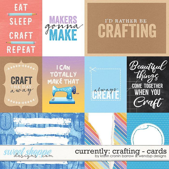 Currently: Crafting - Cards by Kristin Cronin-Barrow and WendyP Designs