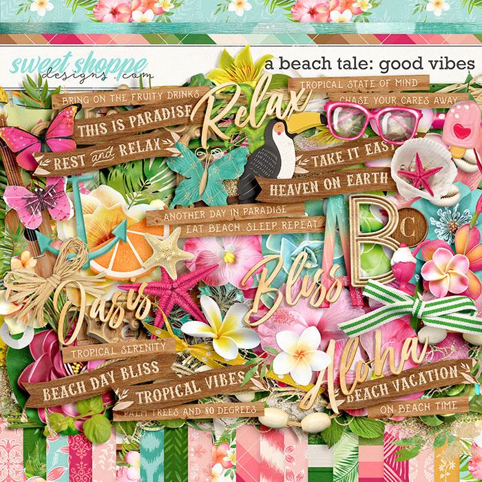 A Beach Tale: Good Vibes by Kristin Cronin-Barrow