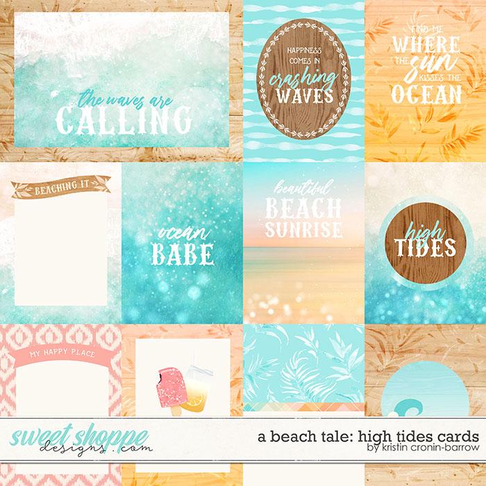 A Beach Tale: High Tides Cards by Kristin Cronin-Barrow