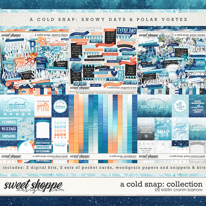 A Cold Snap: Collection By Kristin Cronin-Barrow.