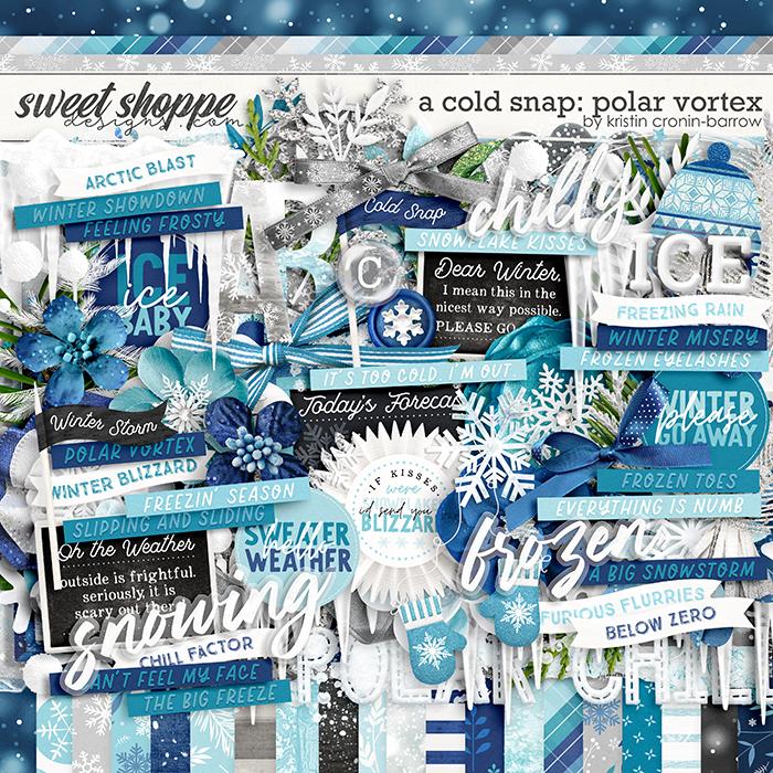 A Cold Snap: Polar Vortex by Kristin Cronin-Barrow