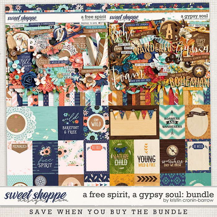 A Free Spirit, A Gypsy Soul: Bundle by Kristin Cronin-Barrow