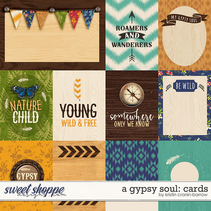 A Gypsy Soul: Cards by Kristin Cronin-Barrow