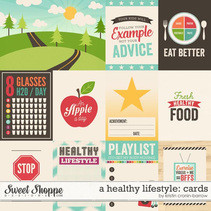 A Healthy Lifestyle: Cards by Kristin Cronin-Barrow