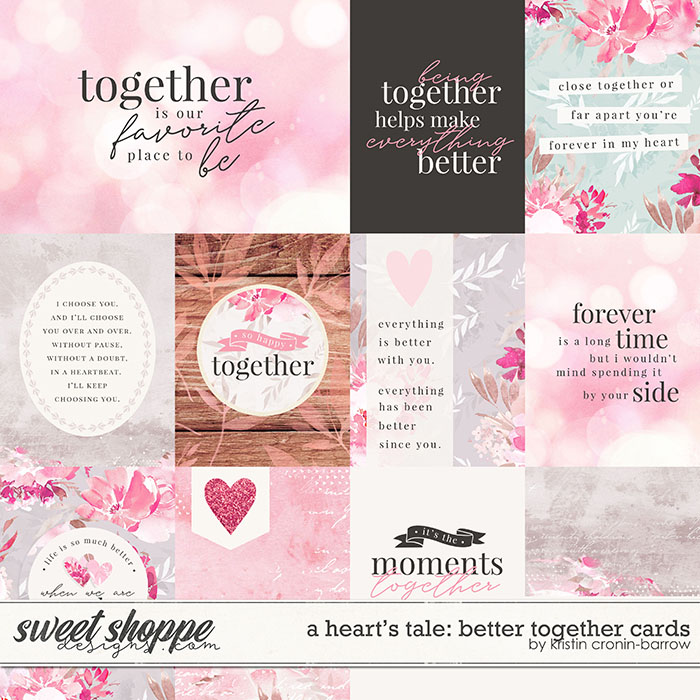 A Heart's Tale: Better Together Cards by Kristin Cronin-Barrow