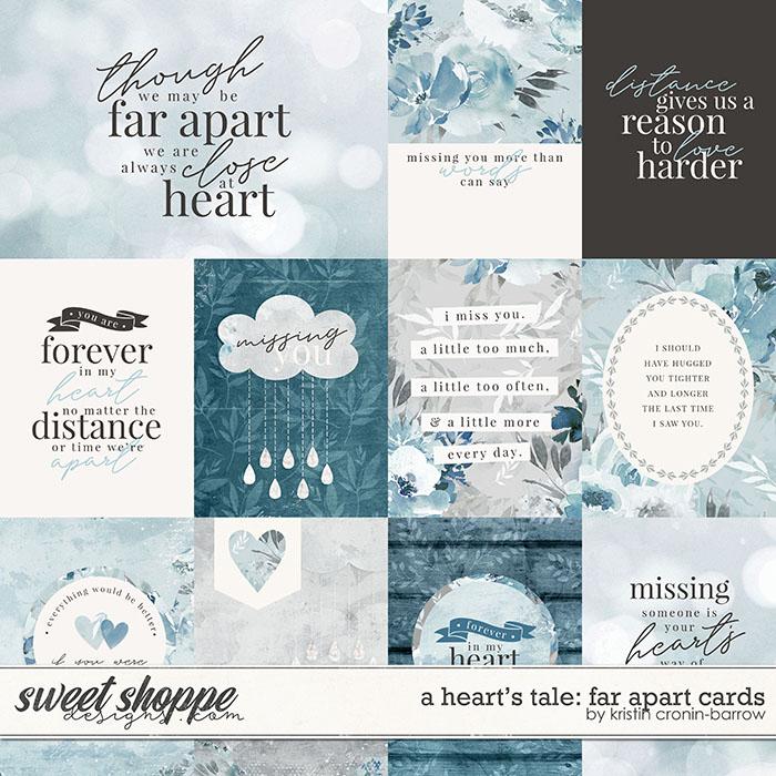 A Heart's Tale: Far Apart Cards by Kristin Cronin-Barrow