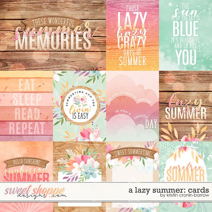 A Lazy Summer: Cards by Kristin Cronin-Barrow