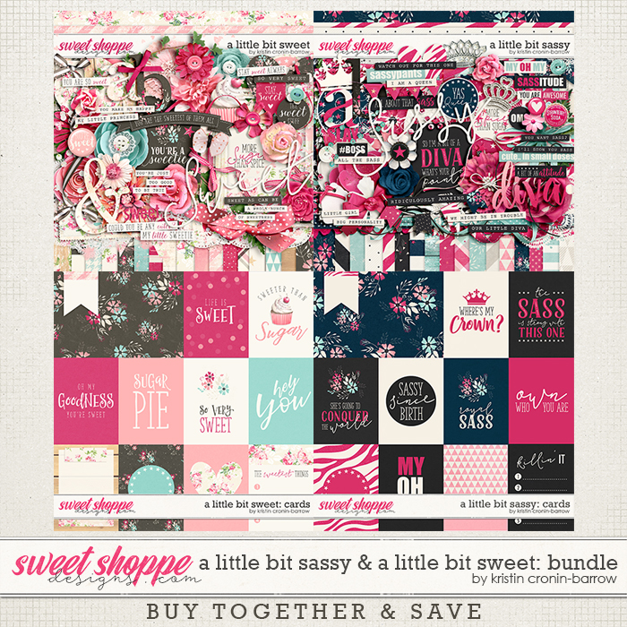 A little bit Sassy and A little bit Sweet bundle by Kristin Cronin-Barrow