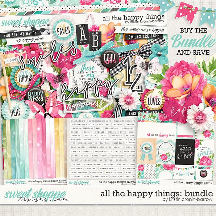 All the Happy Things: Bundle by Kristin Cronin-Barrow