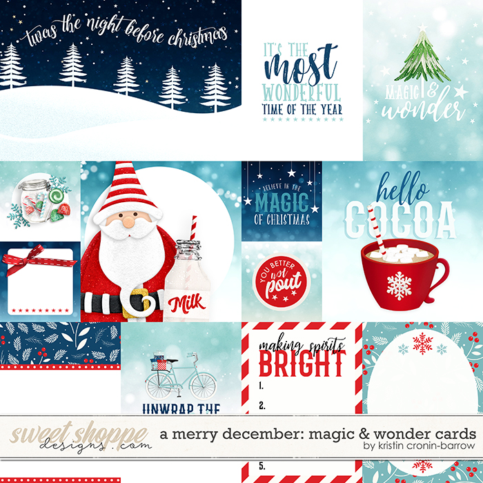 A Merry December: Magic & Wonder Cards by Kristin Cronin-Barrow