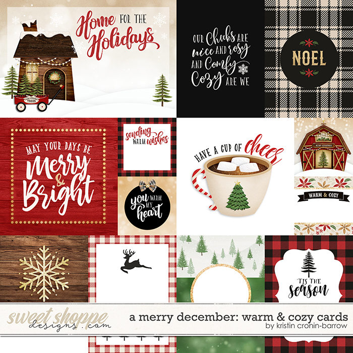 A Merry December: Warm & Cozy Cards by Kristin Cronin-Barrow