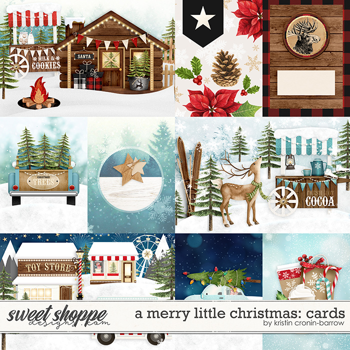 A Merry Little Christmas: Cards by Kristin Cronin-Barrow