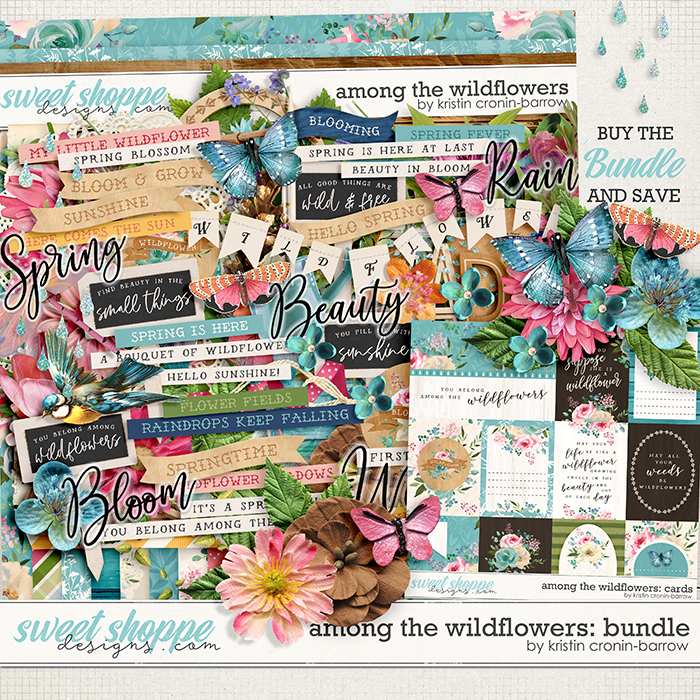 Among the Wildflowers: Bundle by Kristin Cronin-Barrow