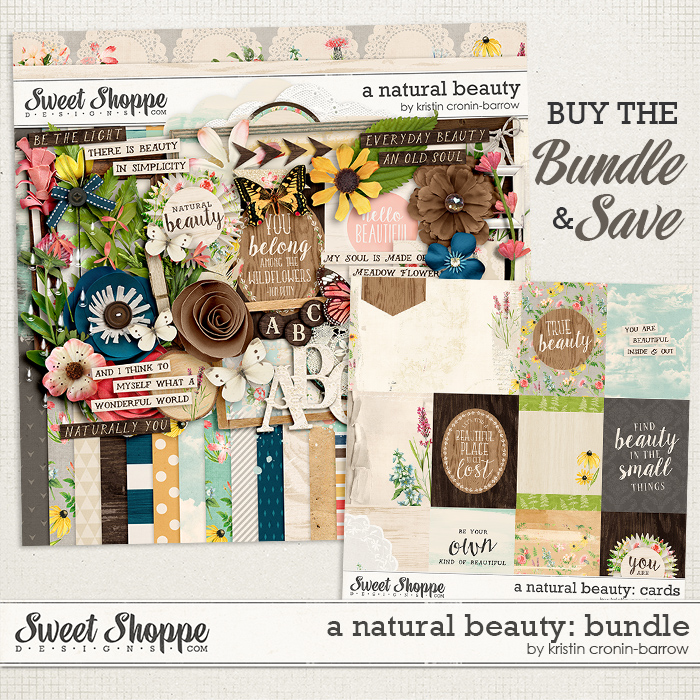 A Natural Beauty: Bundle by Kristin Cronin-Barrow