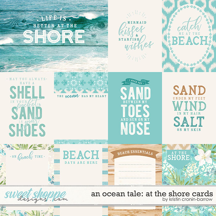 An Ocean Tale: At the Shore: Cards by Kristin Cronin-Barrow