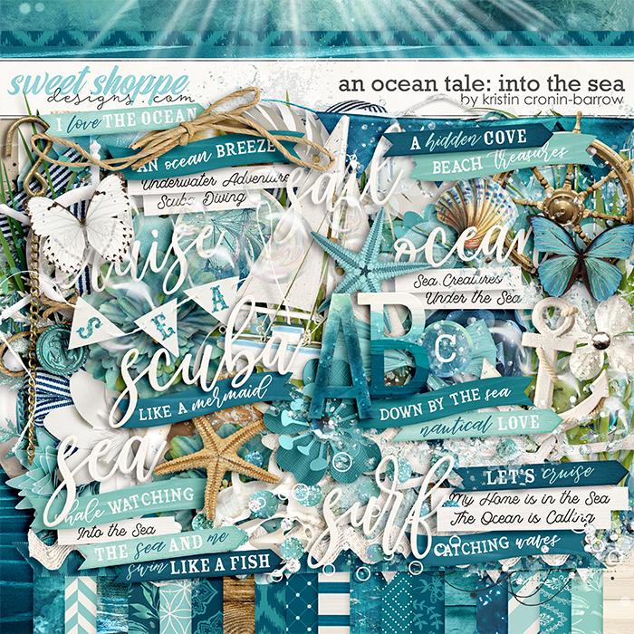 An Ocean Tale: Into the Sea by Kristin Cronin-Barrow