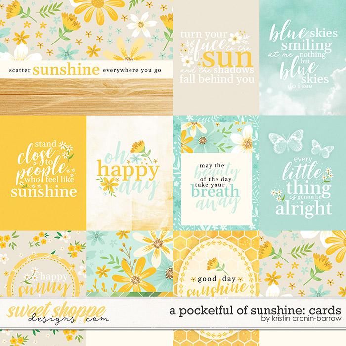A Pocketful of Sunshine: Cards by Kristin Cronin-Barrow
