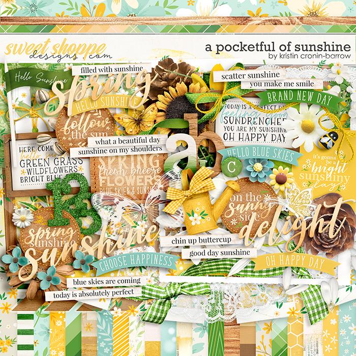 A Pocketful of Sunshine: Kit by Kristin Cronin-Barrow