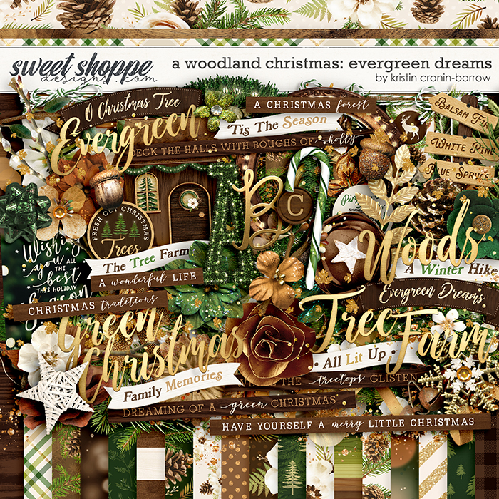 A Woodland Christmas: Evergreen Dreams by Kristin Cronin-Barrow