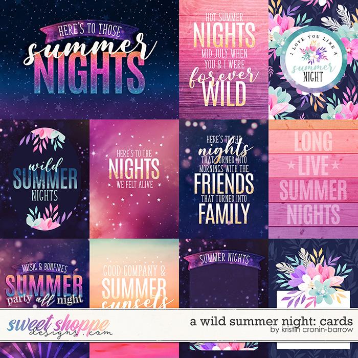 A Wild Summer Night: Cards by Kristin Cronin-Barrow