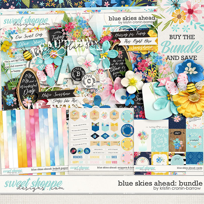 Blue Skies Ahead: Bundle by Kristin Cronin-Barrow