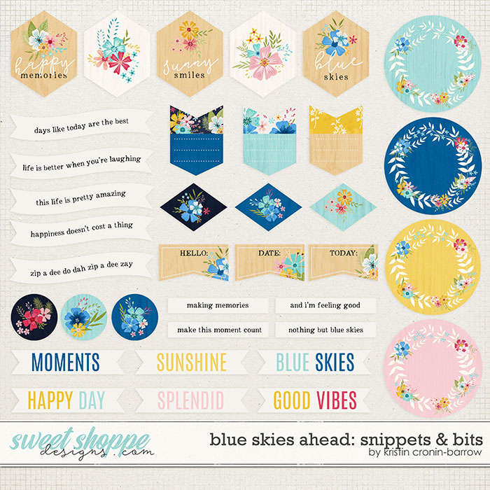 Blue Skies Ahead: Snippets and Bits by Kristin Cronin-barrow
