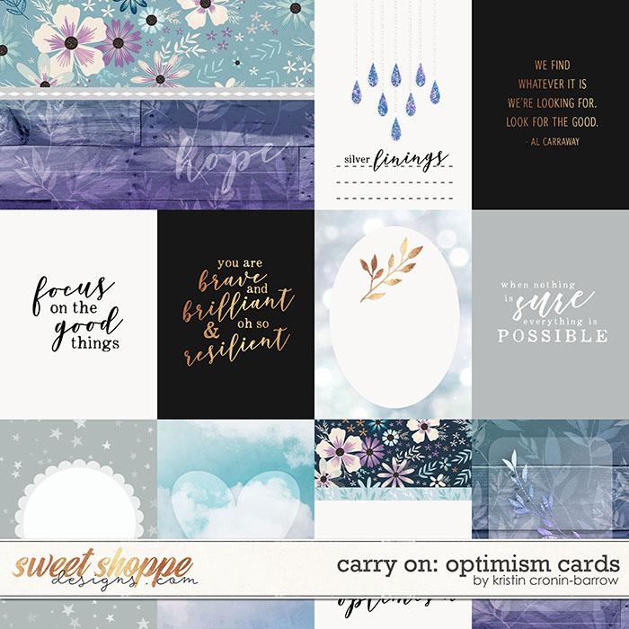 Carry On: Optimism Cards by Kristin Cronin-Barrow