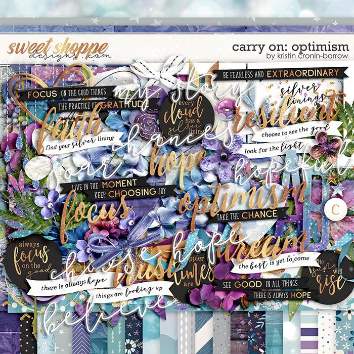 Carry On: Optimism by Kristin Cronin-Barrow