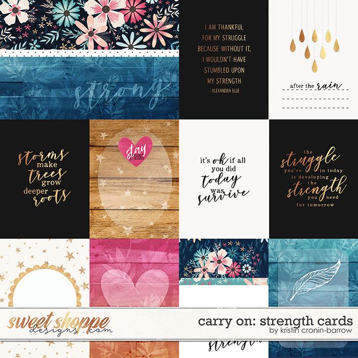 Carry On: Strength Cards by Kristin Cronin-Barrow
