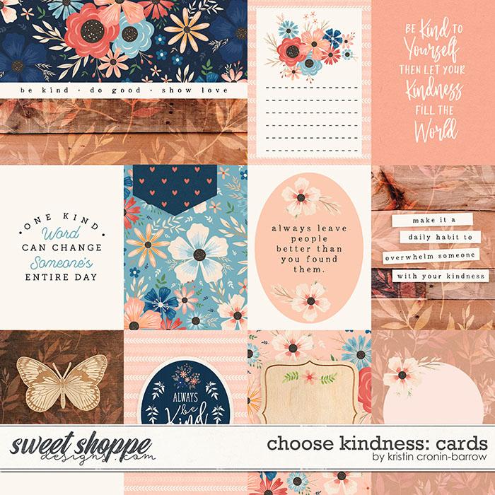 Choose Kindness: Cards by Kristin Cronin-Barrow