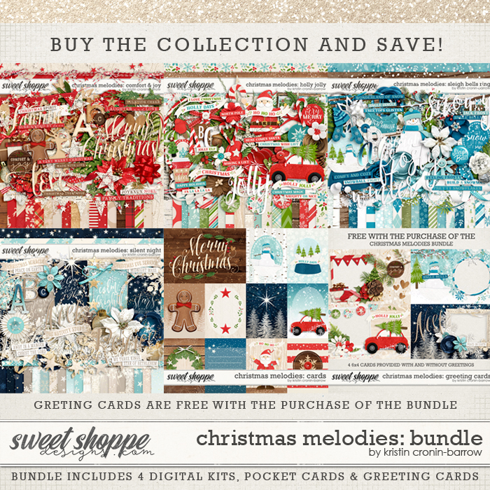 Christmas Melodies: Bundle by Kristin Cronin-Barrow