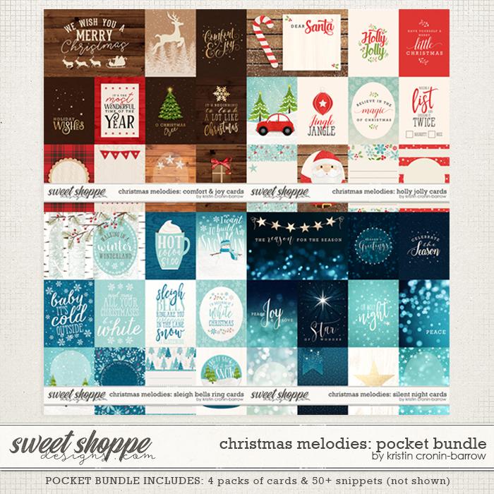 Christmas Melodies: Pocket Bundle by Kristin Cronin-Barrow