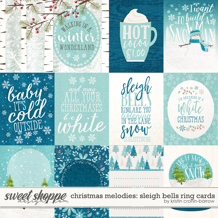 Christmas Melodies: Sleigh Bells Ring Cards by Kristin Cronin-Barrow