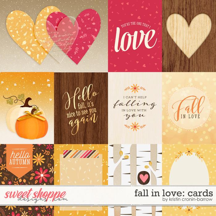 Fall in Love: Cards by Kristin Cronin-Barrow