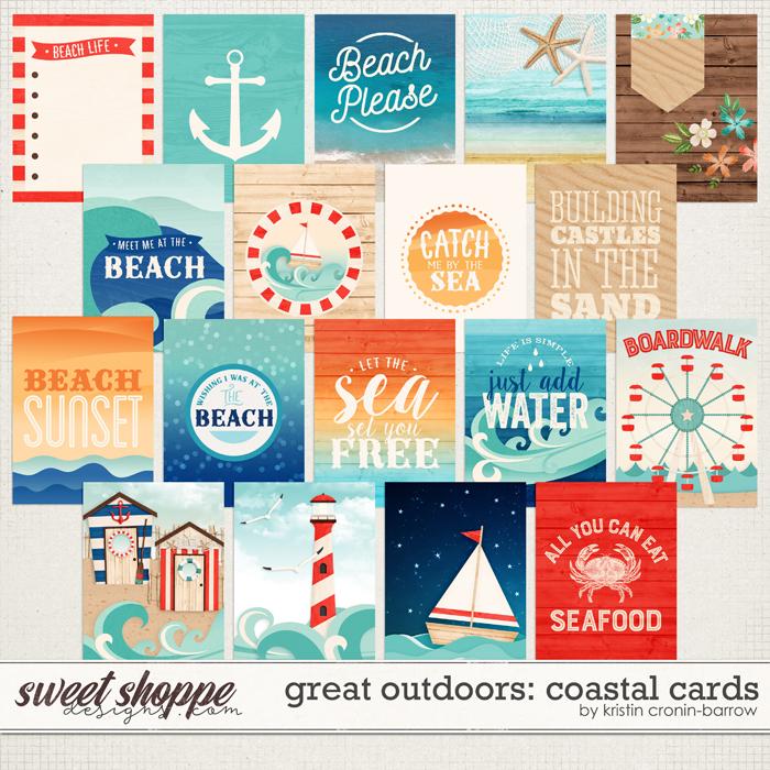Great Outdoors: Coastal Cards by Kristin Cronin-Barrow