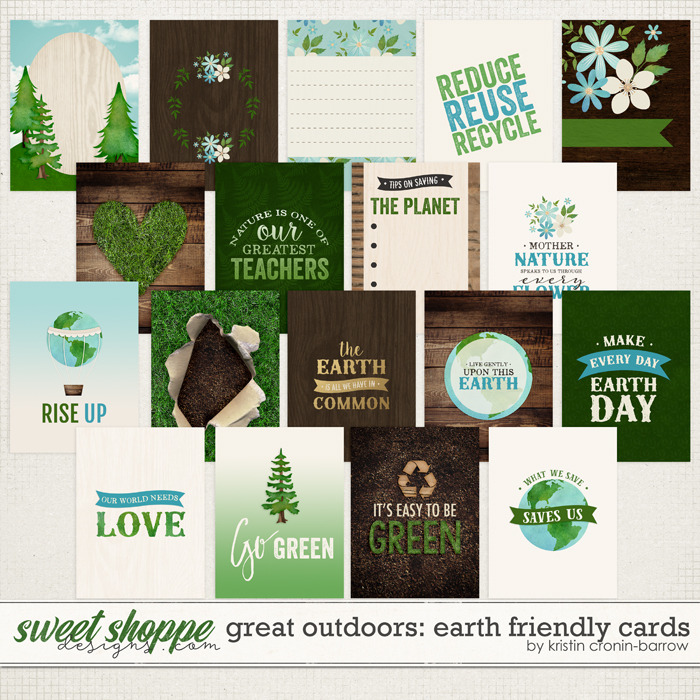Great Outdoors: Earth Friendly Cards by Kristin Cronin-Barrow