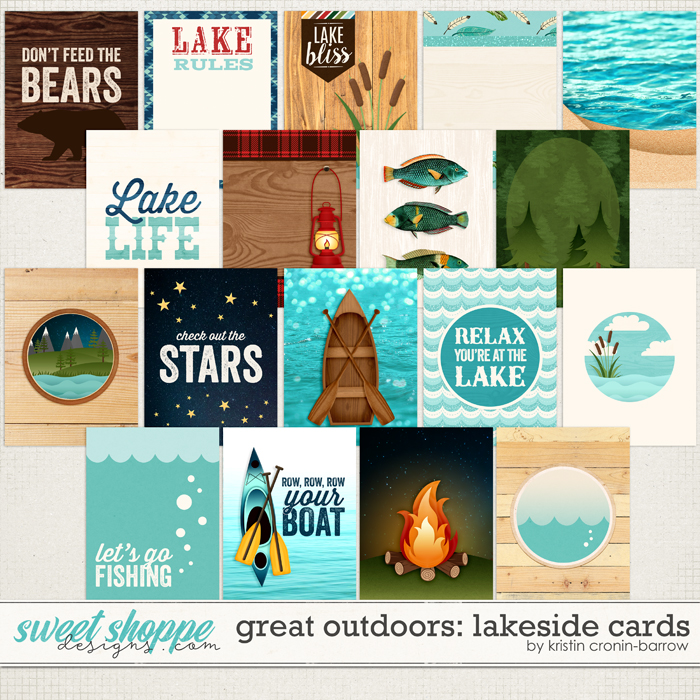 Great Outdoors: Lakeside Cards by Kristin Cronin-Barrow
