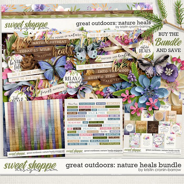 Great Outdoors: Nature Heals Bundle by Kristin Cronin-Barrow