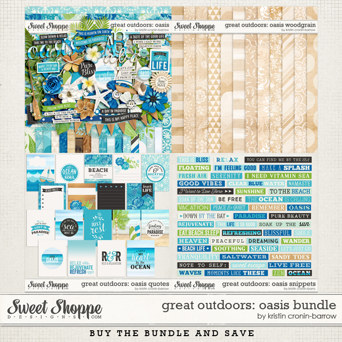 Great Outdoors: Oasis Bundle by Kristin Cronin-Barrow