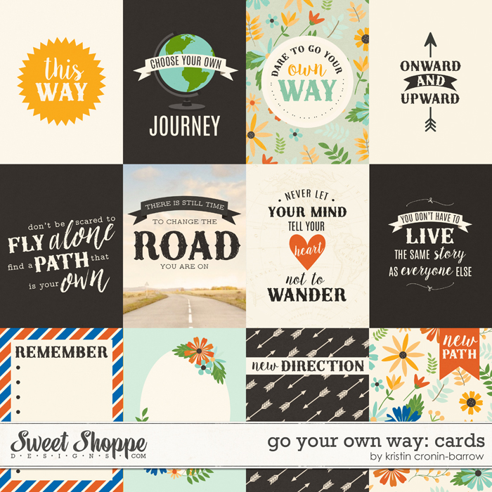 Go Your Own Way: Cards by Kristin Cronin-Barrow