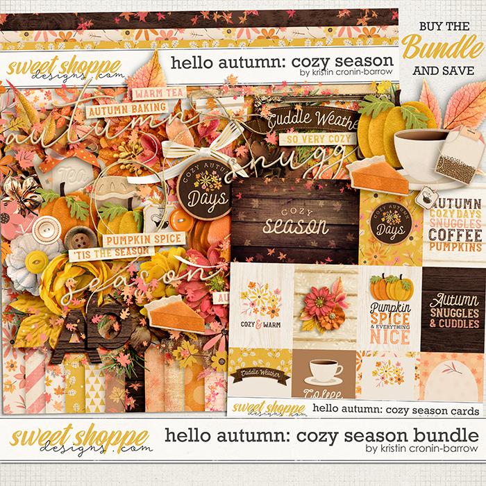 Hello AUtumn: Cozy Season Bundle by Kristin Cronin-Barrow