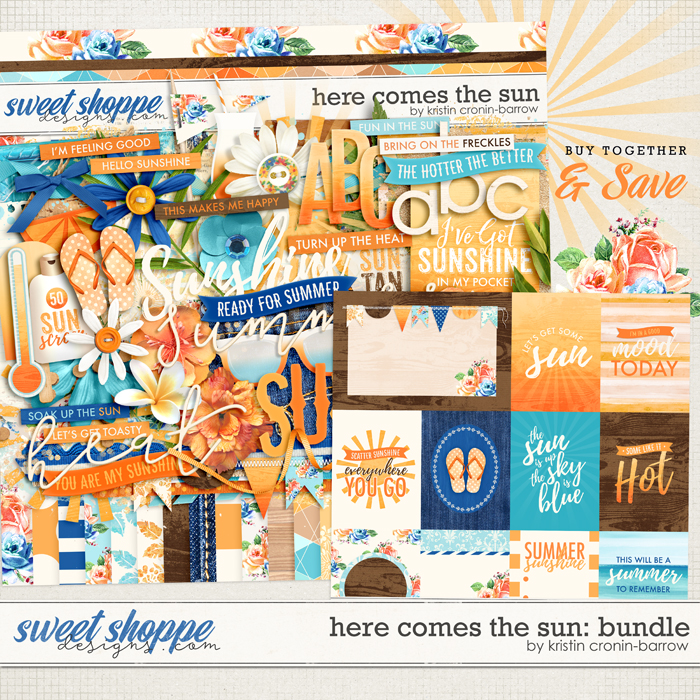 Here Comes The Sun: Bundle by Kristin Cronin-Barrow