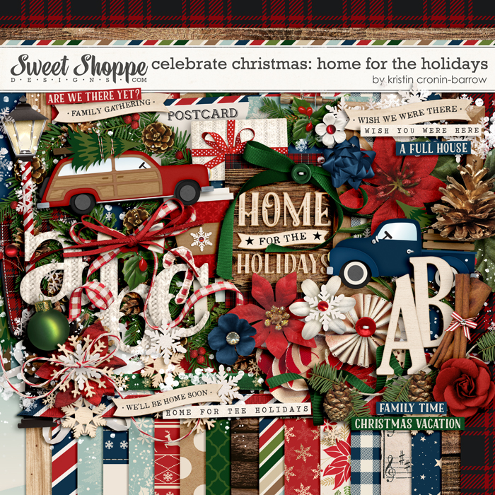Celebrate Christmas: Home for the Holidays by Kristin Cronin-Barrow