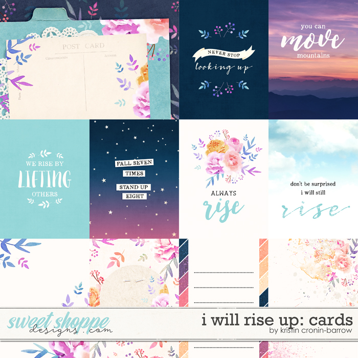 I Will Rise Up: Cards by Kristin Cronin-Barrow