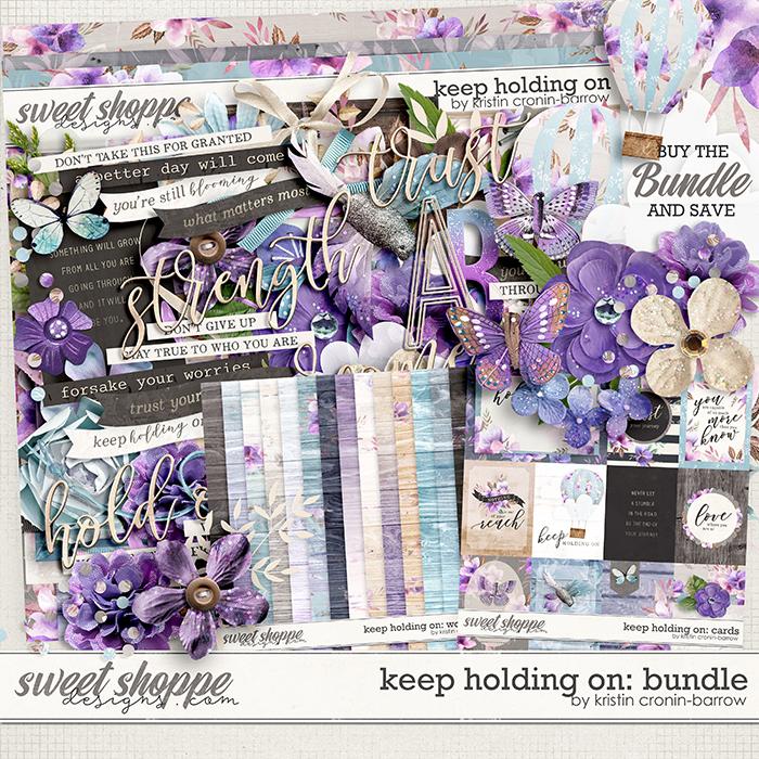 Keep Holding On: Bundle by Kristin Cronin-Barrow