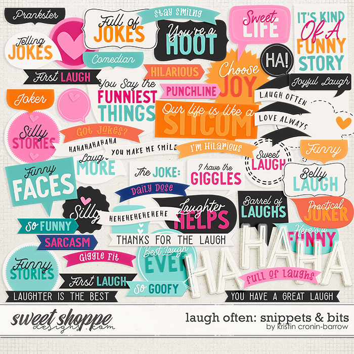 Laugh Often: Snippets & Bits by Kristin Cronin-Barrow