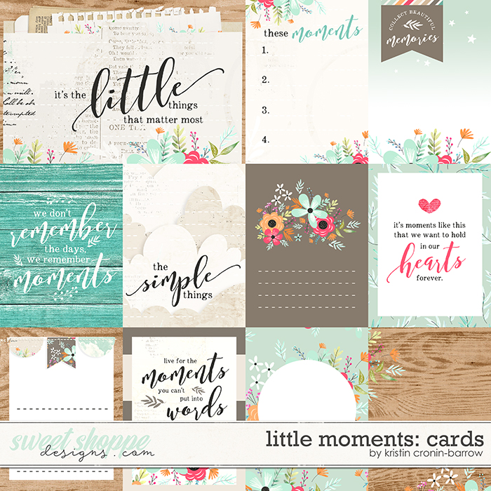 Little Moments: Cards by Kristin Cronin-Barrow